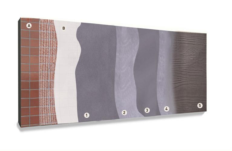Applicazione del rivestimento per superfici verticali Microtopping Wall Texture
