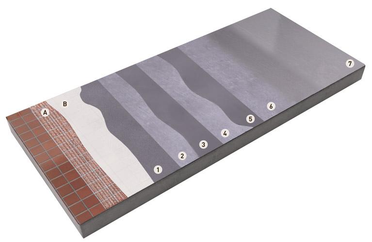 Applicazione dei rivestimenti in microcemento microtopping Ideal Work